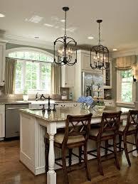 chandeliers for kitchen islands above island lighting jeffreypeak