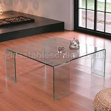large glass coffee table large square glass coffee table on 4 legs by glass tables online