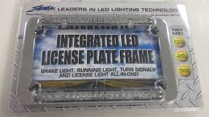 motorcycle license plate frame with led brake light motorcycle license plate frame with led brake light best plate 2018