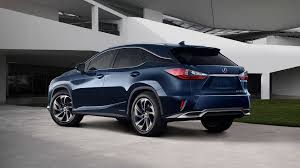sporty lexus blue lexus rx luxury crossover lexus uk