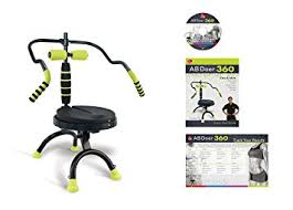 Office Chair Workout Amazon Com Ab Doer 360 Transform Your Entire Body With Abdobics