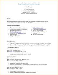 medical receptionist cv template job description resume sample
