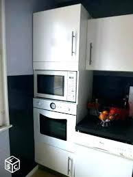 meuble cuisine colonne pour four encastrable colonne four et micro onde meuble cuisine colonne four micro onde