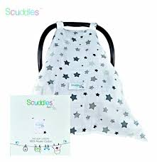 Car Seat Canopy Amazon by Amazon Com Scuddles Breathable Baby Car Seat Canopy Cover Star Baby