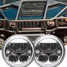 Hummer H3 Clearance Lights by 1992 2004 Hummer H1 Led Headlight Kit Vision X Vortex Xil 7rd