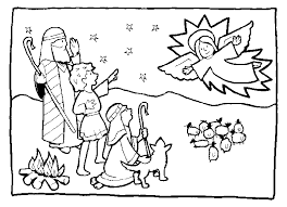 jesus the good shepherd coloring pages shepherds coloring pages christmas angels and shepherds of