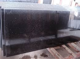 high quality black galaxy stone countertops for kitchen bathroom