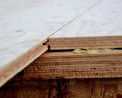 how to install a subfloor on joists white woodworking projects
