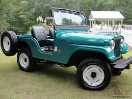 jeep kaiser cj5 jeep cj5 restored 3 owner jeep only 59k original miles looks