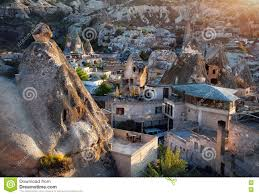 goreme city in cappadocia stock photo image 73834959