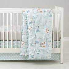 Teal Crib Bedding Crib Bedding Crate And Barrel