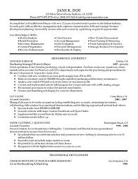 Successful Resume Samples by Enchanting Fashion Buyer Resume Examples 82 On Good Resume