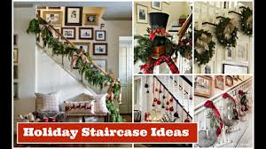 stair decorating ideas christmas staircase decorating ideas holiday decorating ideas