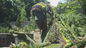 Atlanta Botanical Gardens by Earth Goddess U0027 Plant Sculpture At Atlanta Botanical Garden Youtube