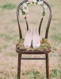 wedding shoes for grass a whimsical garden wedding