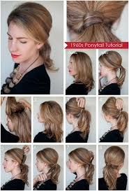 diy ponytail hairstyles for medium long hair popular haircuts