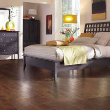 Laminate Flooring At Lowes Shop Allen Roth 4 85 In W X 3 93 Ft L Marcona Hickory