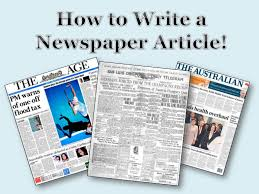 newspaper report planning templates newspaper report