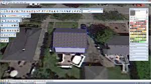 sketchup solar design model a house u0026 design solar array youtube