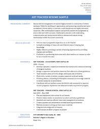 Preschool Teacher Resume Samples Free Resume Good Teacher Resume