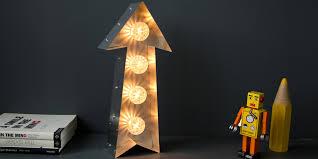 light up bulb arrow