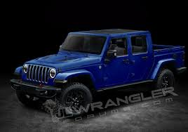 badass lifted jeep wrangler 2019 jeep wrangler pickup truck to be named scrambler 3 0l v6