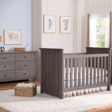 serta northbrook 2 piece nursery set 3 in 1 crib and double dresser