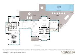 Single Family Home Floor Plans Saunders U0026 Associates Hamptons Real Estate Firm Serving