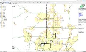 Colorado Map With Counties by Suede Light Brigade U2013 Protect And Project