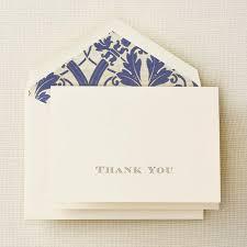 crane stationery gold engraved regency thank you note pkg