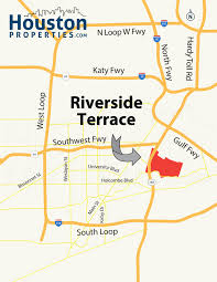 Riverside State Park Trail Map by Guide To Riverside Terrace Houston Tx Homes For Sale