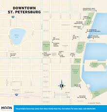 Map St Petersburg Florida by Saint Petersburg 1 14 000 Street Map International Travel Maps