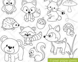 Woodland Animals Coloring Pages Funycoloring Woodland Animals Coloring Pages