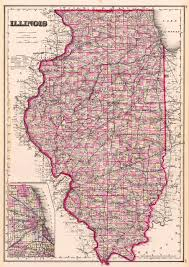 A Map Of Illinois by Medieval Studies In Illinois