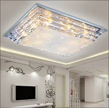 Lighting For Living Room With Low Ceiling Modern Luxury Glass Led Ceiling L E27 Led L Minimalist