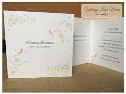 Love Bird Wedding Invitations Love Birds Collections Bespoke Wedding Stationery Wedding