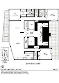 plans sydney penthouse floor plans sydney free home design images
