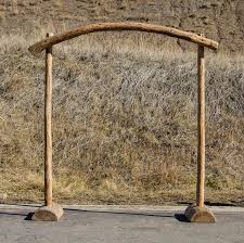 wedding arch log arches colorado event rentals