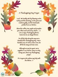 thanksgiving day prayer poem finding our way now