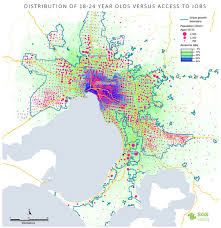 Councils Of Melbourne Map Stranded Youth Spatial Disadvantage In Melbourne Report