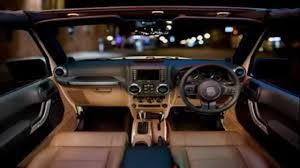 luxury jeep wrangler unlimited interior customized jeep wrangler interior 2 youtube