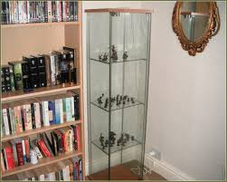 Small Glass Door Cabinet Classic Style Living Decoration With Detolf Curio Glass Door