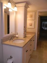 Double Vanity With Tower Bathroom Storage Tower Foter