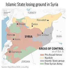 Damascus Syria Map It U0027s Not Independence But Syria U0027s Kurds Entrench Self Rule 660 News