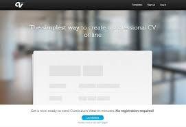 Online Resume Tool by Resumés Pixelpush Design