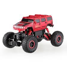monster hummer red eu 6005 1 2 4ghz 4wd 1 16 hummer fast speed rtr rock crawler