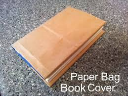 best 25 paper bag book cover ideas on paper book