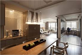 modern apartment bedroom brown wooden table composite kitchen sink