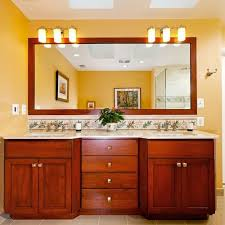 Bathroom Mirror Cabinets With Light by Light Above Mirror Houzz