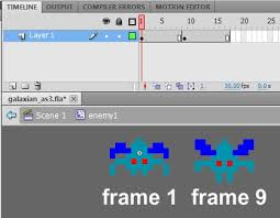 membuat game flash logika tutorial membuat game galaxian dengan menggunakan flash as 3 dan as2